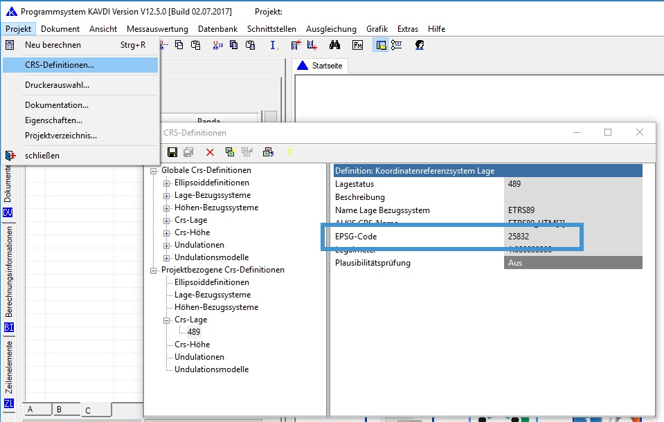 Was ist ein EPSG-Code ? - GeoS - Geodätische Software